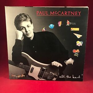 Image Is Loading PAUL MCCARTNEY All The Best 1987 UK Double