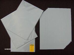 10xTonkarton Kartenkarton Kartenpapier silbergrau A4 240g 690122