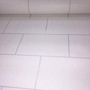 Details Sur Salle De Bain Cuisine Papier Peint En Relief Vinyle Paillettes Brique Ardoise Tuile Argent Blanc Afficher Le Titre D Origine