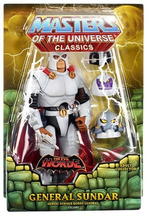 Masters of the Universe Classics Club Eternia General Sundar Action Figure