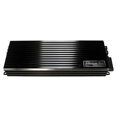 4 Inch PH2500MD American Bass 2500W Max Class D Amplifier Phantom Micro-Technology