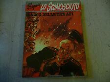 """MAGNUS """"LO SCONOSCIUTO- Largo delle 3 api- fumetto ISOLA TROVATA 1985"""" A4"""