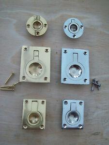 CABINET-CUPBOARD-DRAWER-DOOR-RECESSED-FLUSH-PULL-HANDLES