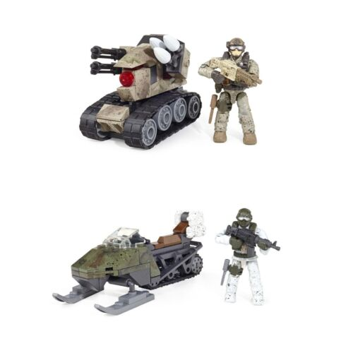 Mega Bloks Vehicle Sets Choose Mountain Recon Or Drone Attack Call Of Duty COD