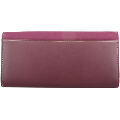 Coin Holder Womens Large Faux Leather RFID Protected Money Ladies Purse