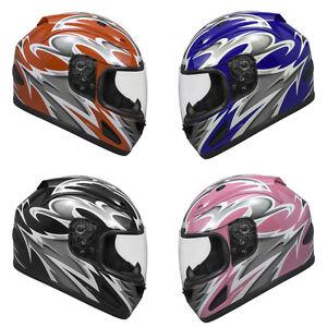 Raider-Full-Face-Motorcycle-Helmet-Street-Bike-Helmet-DOT-Approved