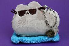 Pusheen Series 3 Sunglasses Cat On Towel Mini Surprise Plush Keychain