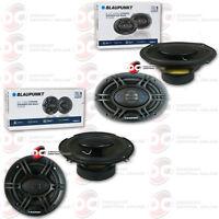 Blaupunkt Pair Of 6x9 4-way Speakers Plus Pair Of 6.5 4-way Car Coax Speakers