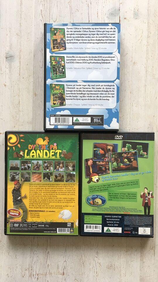 Dyrene på landet, Sigurds bjørnetime, DVD