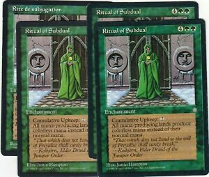 Ritual-of-Subdual-x4-Magic-the-Gathering-Ice-Age-3-english-and-1-french