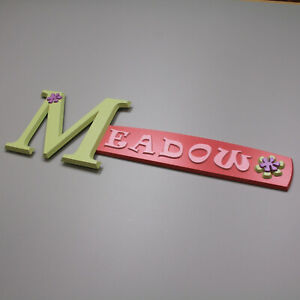 MEADOW-personalized-wood-name-sign-bedroom-wall-decor-art-plaque-kid-teen-dorm