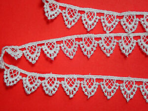 The Place For Lace Pretty Baby Pink Rose Guipure Lace Trim 1.5cm TOP SELLER