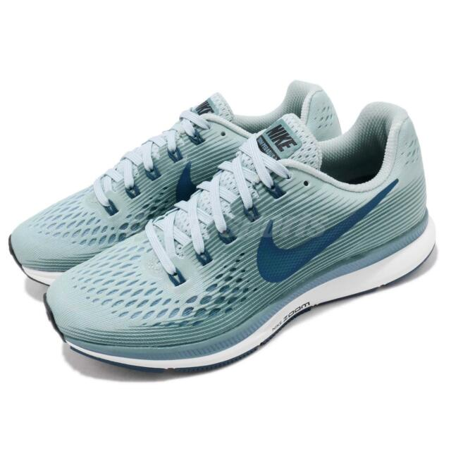 Nike Wmns Air Zoom Pegasus 34 Ocean Bliss Blue Women Running Shoes 880560- 408 e10596ba2e