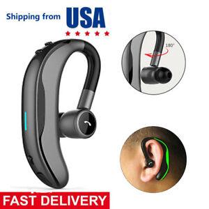 98b36013b2b Image is loading Bluetooth-Headset-Wireless-Earpiece -HandsFree-Business-Earphone-for-