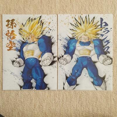 Ichiban Kuji Dragon Ball Z ULTIMATE EVOLUTION Clear File 2 Sets Piccoro Gotenks