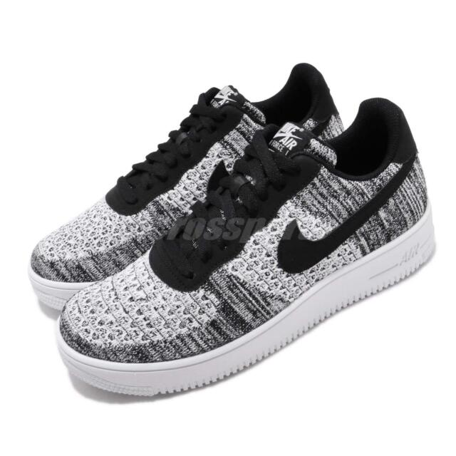 best sneakers 0a206 c211a Nike Air Force 1 Flyknit 2.0 Black White Men Casual Shoes AF1 Sneaker  AV3042-001