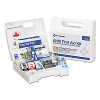 First Aid Only Ansi 2015 Compliant Class A+ Type I & Ii First Aid Kit For 25 on sale