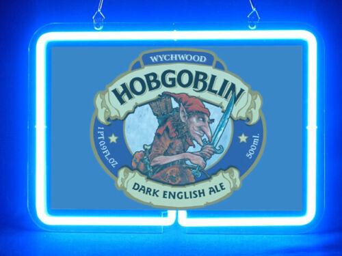 Hobgoblin Beer Beverages Drink Club Pub Bar Shop Advertising Neon Sign