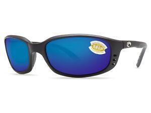 e10dba47aff88 Costa Del Mar Brine Matte Black   Blue Mirror 580 Plastic 580P - NEW ...