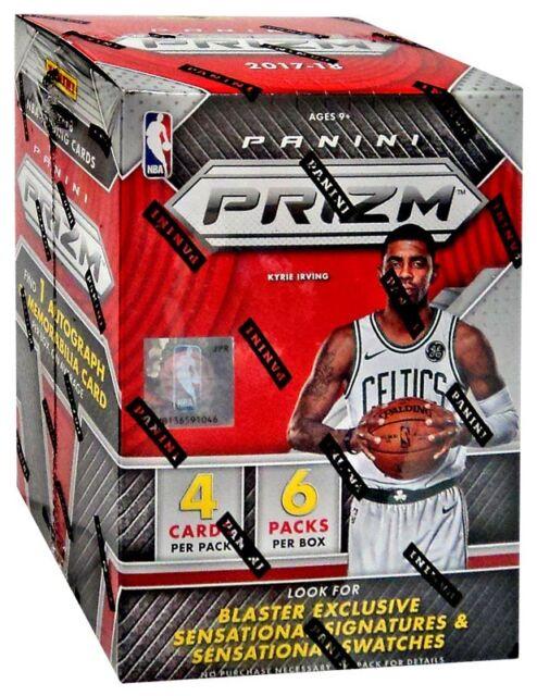 NBA Basketball 2017-18 NBA Prizm Trading Card BLASTER Box [6 Packs]