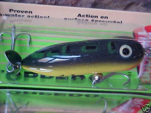 Heddon Baby TORPEDO 3//8oz Topwater X0361BF Color BullFrog for Bass//Pike//Pickerel