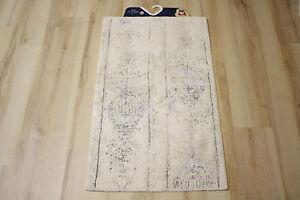 Badteppich Badematte Kleine Wolke Caracas Silbergrau 70x120 cm | eBay