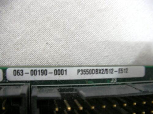 Radisys 34500-002 56-309-0111 Single Board Computer SBC 2 x P3 550MHZ /& RAM