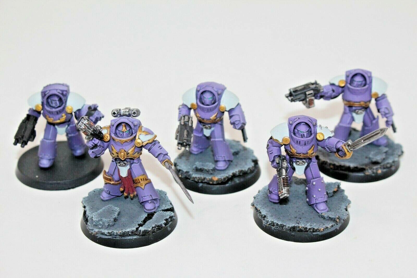 Warhammer Chaos Space Marines Tartaros Terminators Well Painted - JYS83