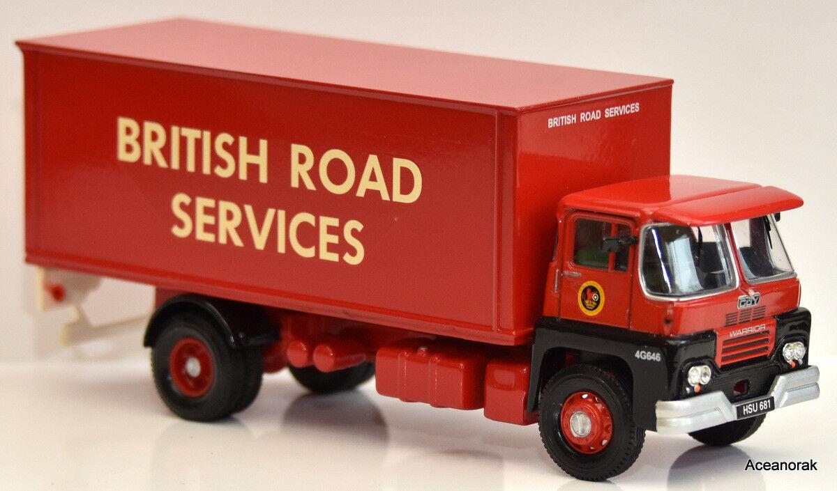 1 50 GUY GUY GUY Warrior Box Van Code 3  British Road Services 14ed2c