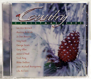 image is loading country christmas 2002 by original artists cd 2002 - A Country Christmas