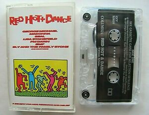 Red-Hot-amp-Dance-Various-Artists-Cassette-1992-WORKS-George-Michael-Madonna