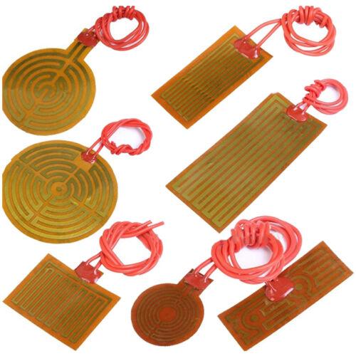 PI Polyimide Flexible Adhesive Heater Heating Film Tape 1W 5W 12W 30W 100W 200W