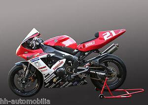 Yamaha-Rennmotorrad-DINA4-Poster-Foto-Motorrad-Rennmaschine-race-motorcycle-2