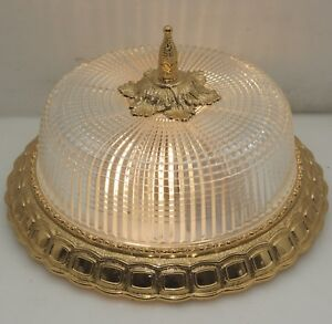 Plafoniere-26cm-Decken-Lampe-Antik-Stil-Flush-Mount-Dome-Led-Light-Ceiling-Lamp