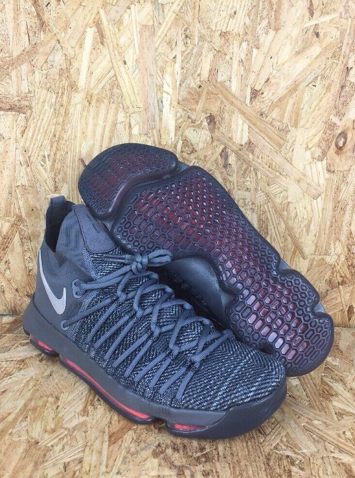Nike Zoom KD9 Elite TS Shoes Dark Grey Sail Jade Time To Shine Size 10