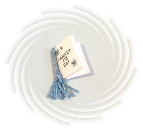 European GALA ABEND Invitation Card Book CARNET DE BAL for Barbie doll 1677