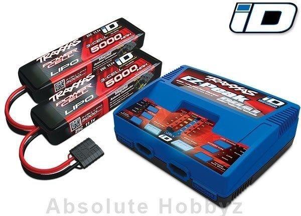 Traxxas Batería y Cochegador Completo Pack-tra2990