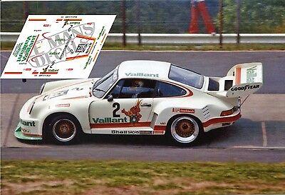 Calcas Porsche 935 Nurburgring 1976 2 1:32 1:43 1:24 1:18 decals