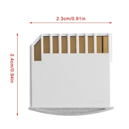 1PC Portable Micro TF To SD Card Memory Card Converter Adapter For MacBook Air