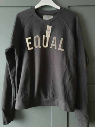 "SOL ANGELES /""EQUAL/"" SWEATSHIRT Medium Black RRP £80.00 #S"