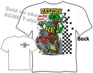 3d936c100 Rat Fink Shirts 40 Ford 1940 Woody Hot Rod T Shirts Shirt Big Daddy ...