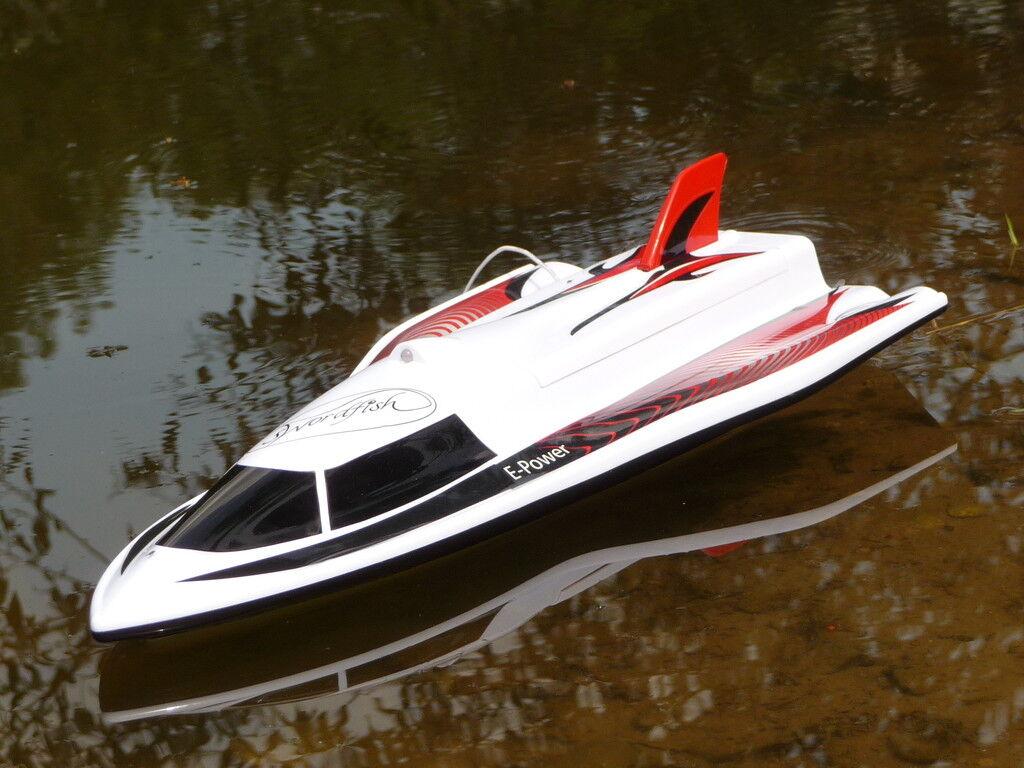RC modello Power barca Swordfish lunghezza 40cm  remoto 27 MHz  con BATTERIA 40430