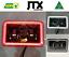 "thumbnail 1 - JTX, 1 Pair Black LED Headlights, 4x6"", White and Red Halo, Toyota Landcruiser"