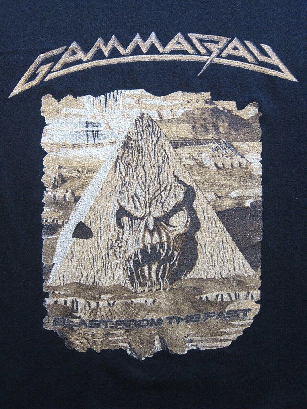 Vintage Gamma Ray Blast from the Past t-shirt 2000 death speed metal Größe L/XL