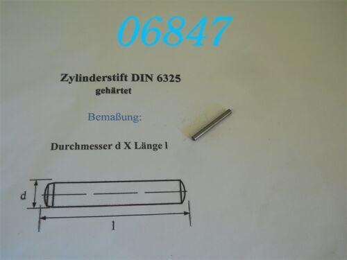 DIN 6325 25 ZYLINDERSTIFT 3 x 28 mm TOLERANZ M6