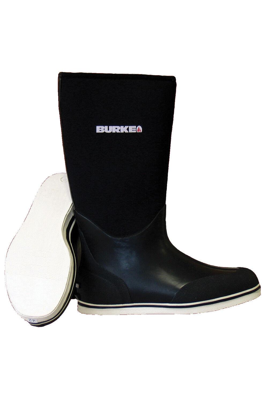 BURKE Neo Rubber Sailing Boat Boots Rain Waterproof Carbon