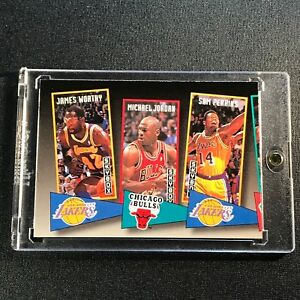 MICHAEL-JORDAN-1992-SKYBOX-ST16-SCHOOL-TIES-INSERT-CARD-NBA-CHICAGO-BULLS-UNC