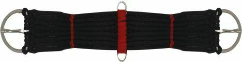 18 20 22 24 BLACK or TEAL Shetland Sm Pony or Mini 9 String Western Rope Girth