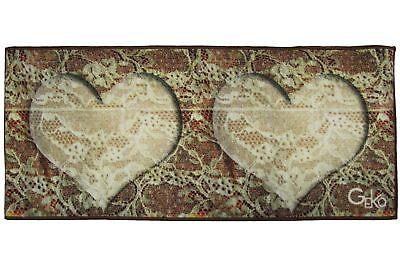 Considerate Tappeto Zerbino Fuoriporta Antiscivolo Shabby Stampa Digitale Guida Perla Cuore Extremely Efficient In Preserving Heat Other Bedding