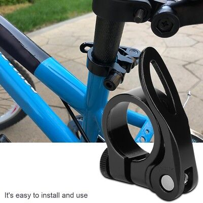 25.4,28.6,31.8mm MTB Bike Bicycle Saddle Seat Post Clamp Quick Release R9S3